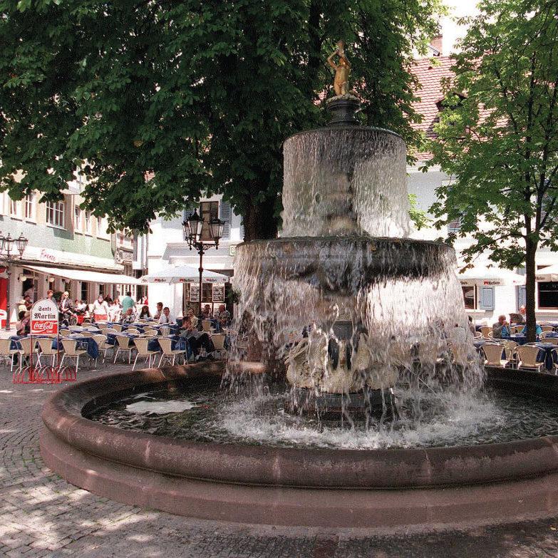 Kaiserslautern Tourismus Martinsbrunnen S